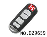 马自达汽车4键智能遥控匙壳
