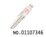 雷诺汽车折叠遥控匙头(152#)
