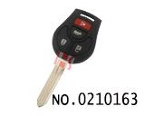 尼桑玛驰、阳光汽车2-4键遥控芯片匙(433MHZ)