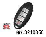 尼桑(GTR)汽车四键智能卡无卡槽外壳