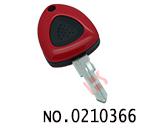 法拉利汽车一键遥控匙壳(右槽无标)