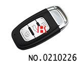 奥迪Q7汽车三键智能钥匙壳
