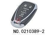新款雪佛兰汽车五键智能遥控匙壳