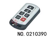 丰田塞纳汽车六键智能遥控匙壳(无标)
