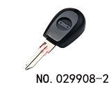 阿尔法罗密欧汽车可装晶片匙(黑色)(无标)