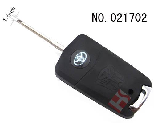 丰田卡罗拉,rva4汽车2键遥控改装折叠匙壳