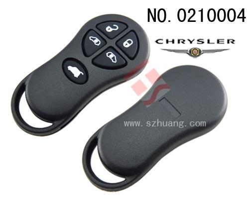 克莱斯勒汽车5键遥控器外壳 无标 高清图片